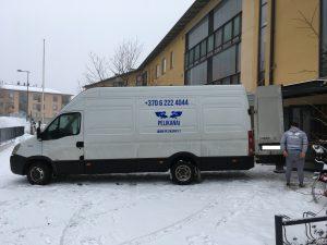 tarptautinis perkraustymas Espoo