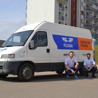 kraustytojų paslaugos Lietuvoje