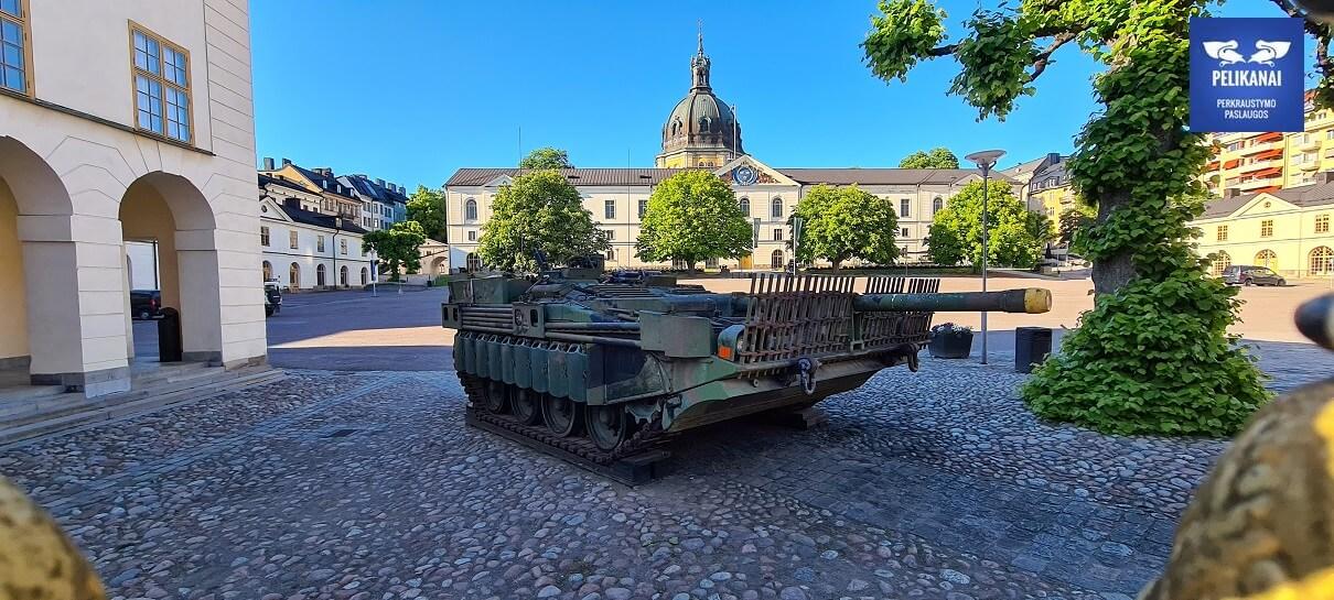 Perkraustymas Švedija Lietuva
